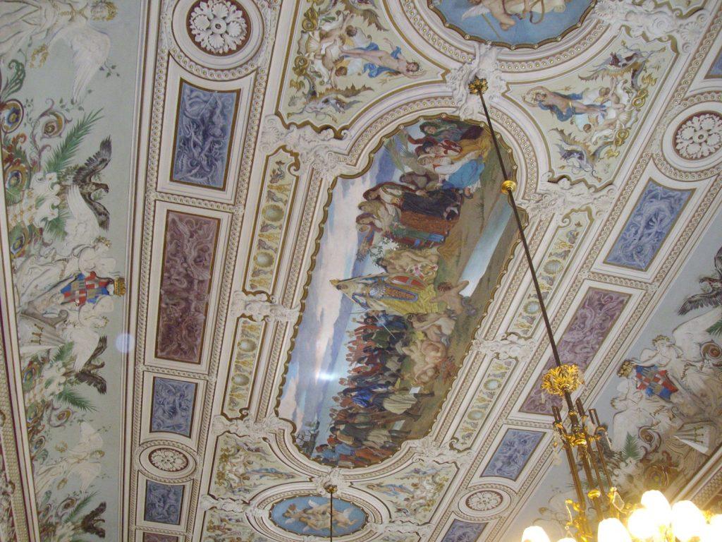 affresco di Palazzo Regio