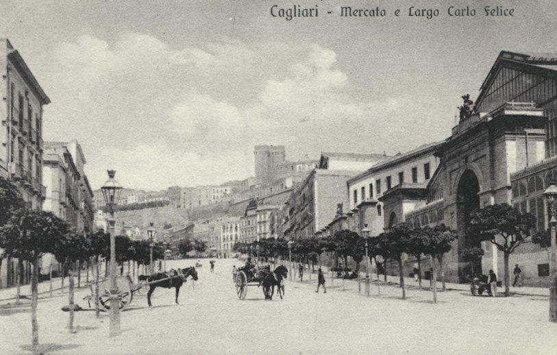 Un'immagine storia del Largo Carlo Felice