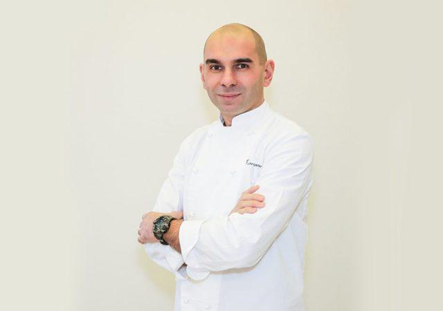 Il mastro gelataio Fabrizio Fenu