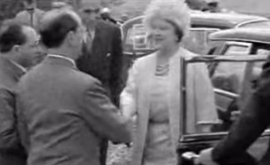 1961 La Regina Madre In Visita A Cagliari (Istituto Luce)