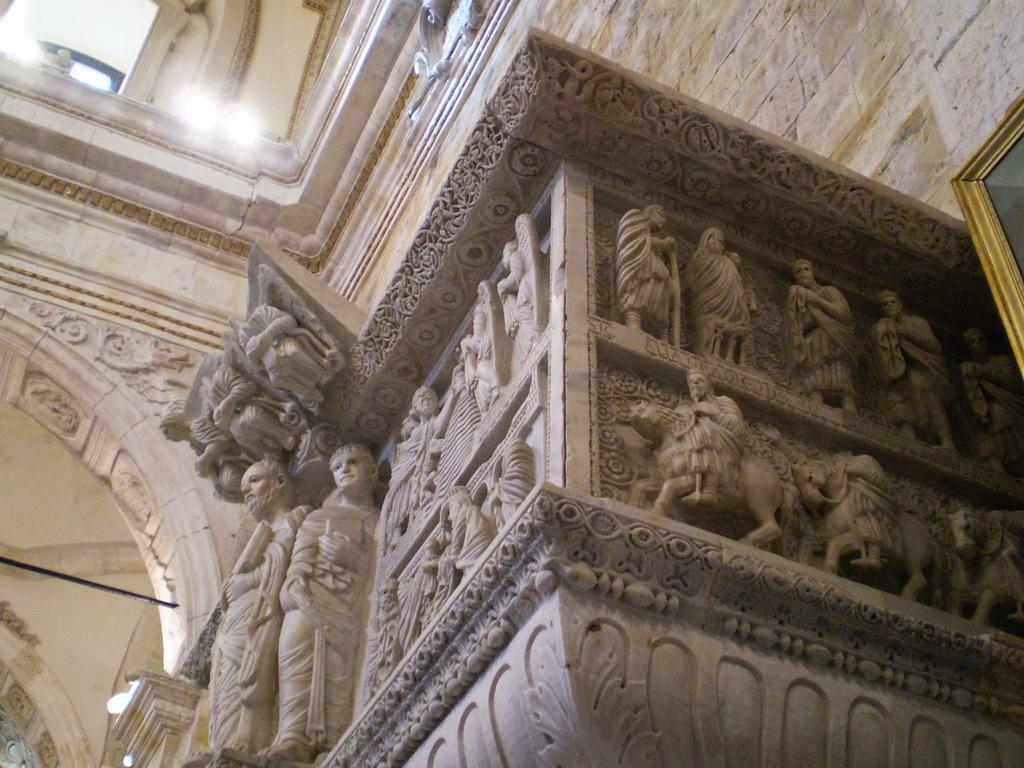 il pulito dello scultore Guglielmo del Duomo di Cagliari