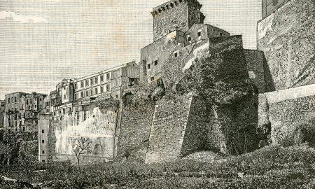 esempio di fortificazioni di cagliari nel quartiere castello