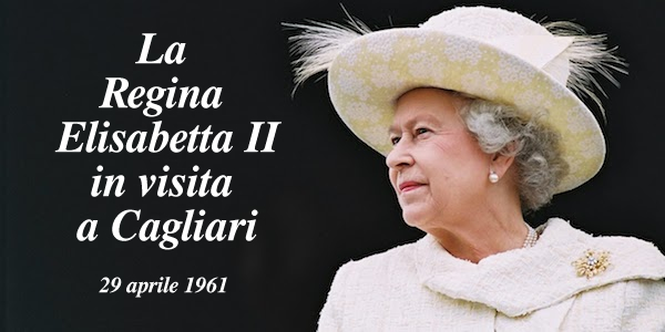 La Regina Elisabetta II a Cagliari