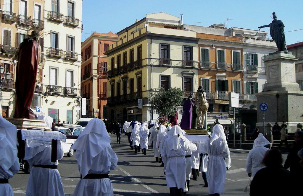 la processione is misterius de sa pasca manna