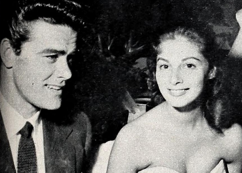 Jeff Richards And Anna Maria Pierangeli 1954 (fonte Wikipedia Commons)