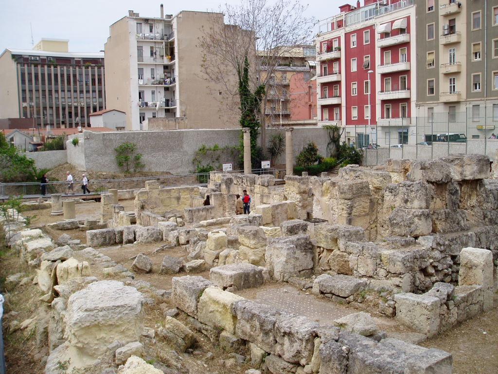 il sito archeologico della villa di tigellio