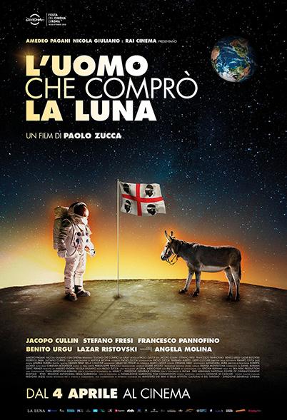 Locandina film L'uomo che comprò la luna di Paolo Zucca