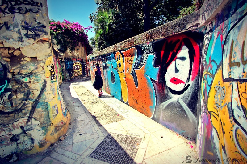 Street Art A Cagliari