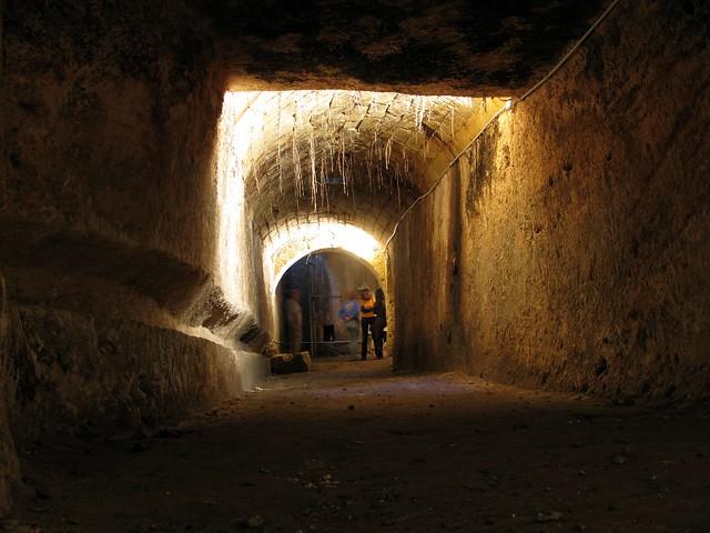 le gallerie attorno al pozzo di san pancrazio