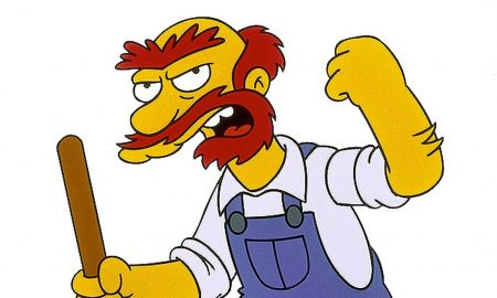 Giardiniere, Cartone animato, I Simpson