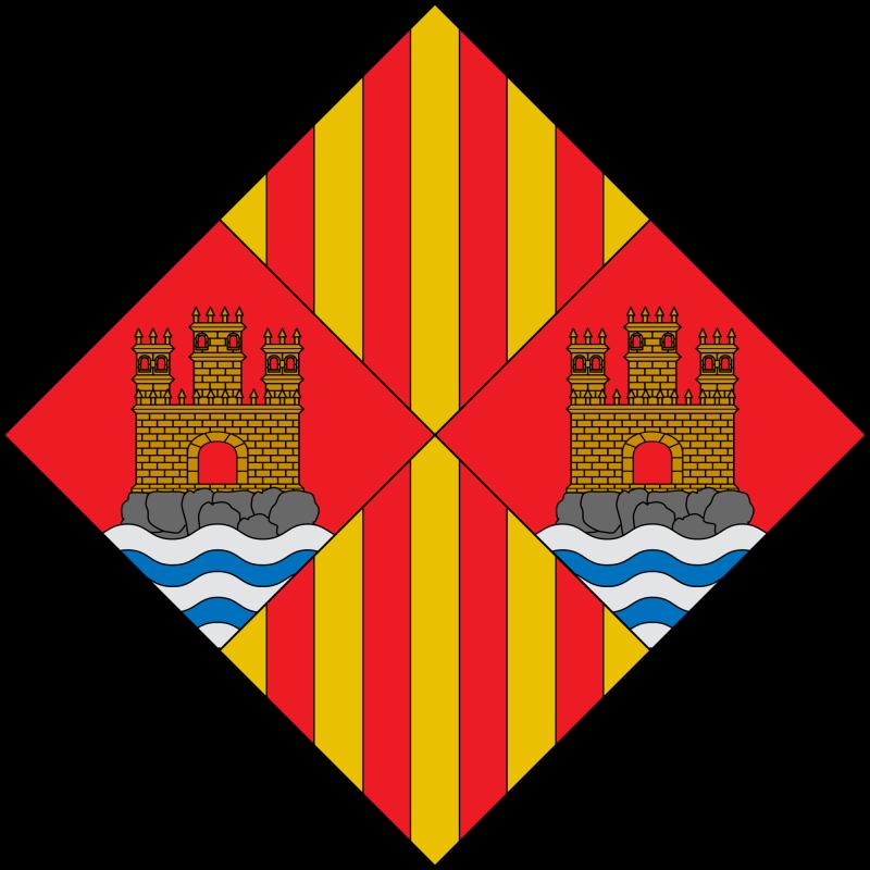 stemma di Cagliari al tempo degli Aragonesi