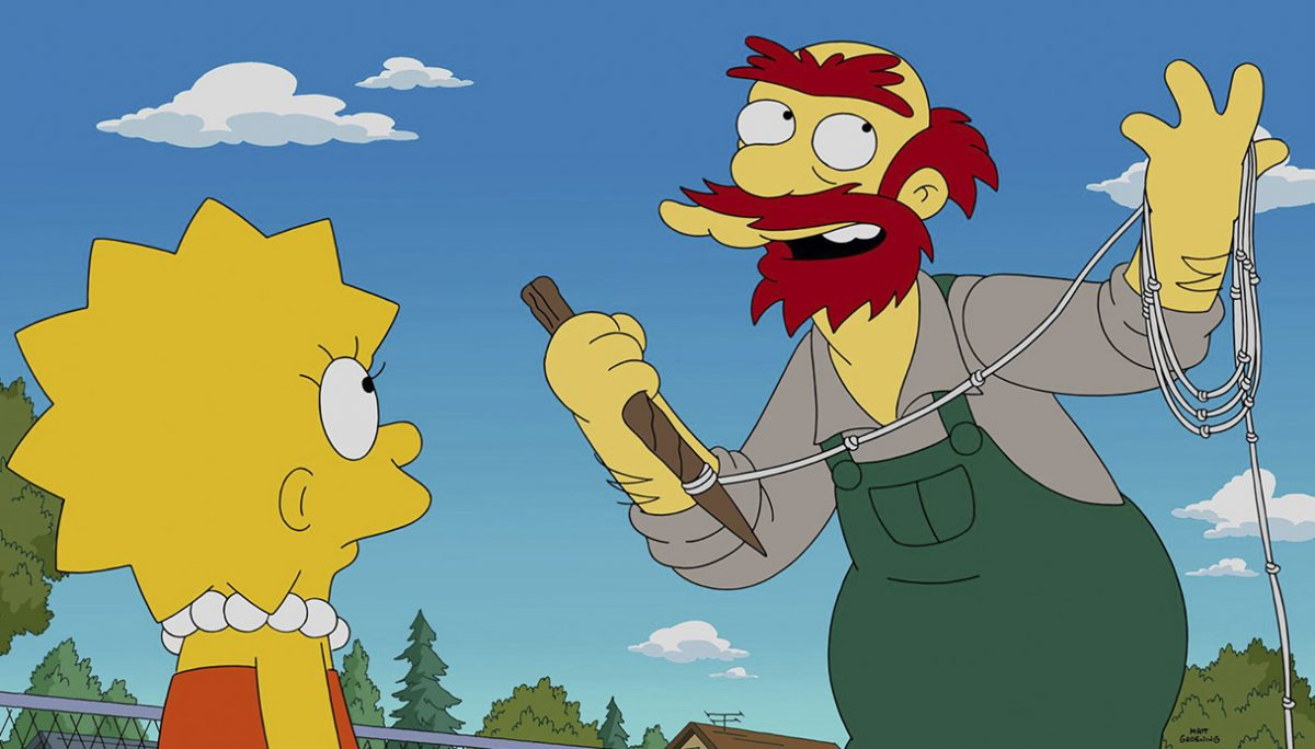 Cartone animato, personaggi Simpson