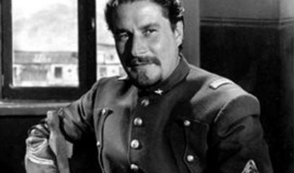 foto storica dell'attore Nazzari