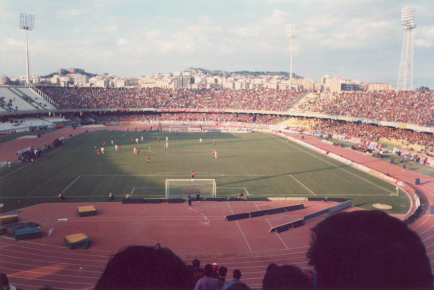 Via libera al nuovo stadio del Cagliari e non solo il Sant'Elia ai Mondiali- Foto dalla Curva