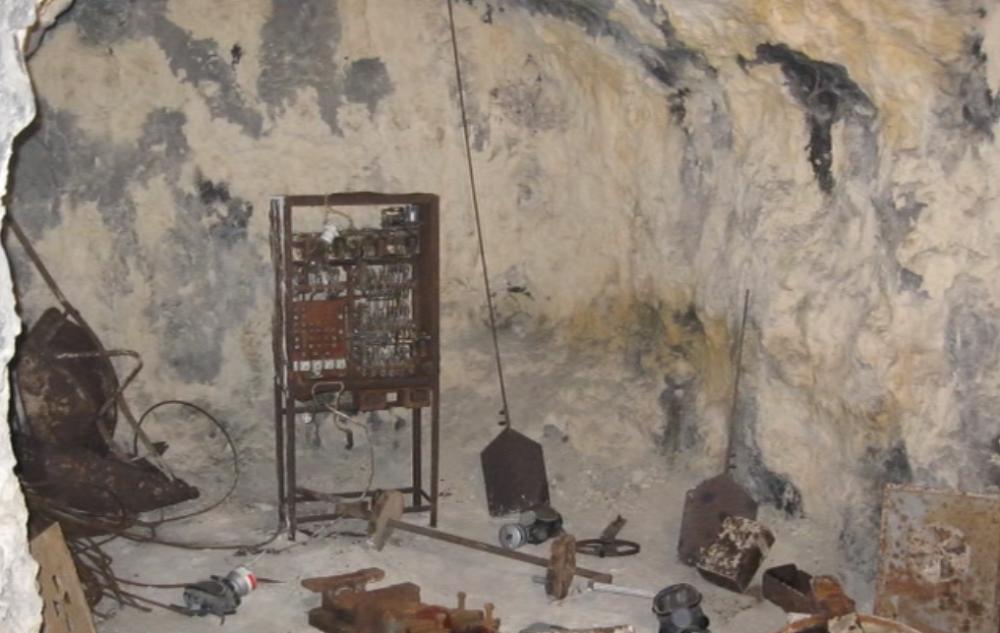 Nicchia sotterranea dell'ospedale San Giovanni di Dio