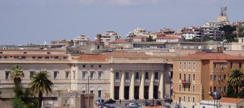 Ospedale San Giovanni di Dio -Visione d'insieme esterna