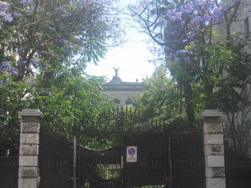 Villa Patarozzi Congiu Ingresso