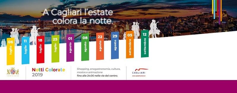 Locandina Notti Colorate 2019
