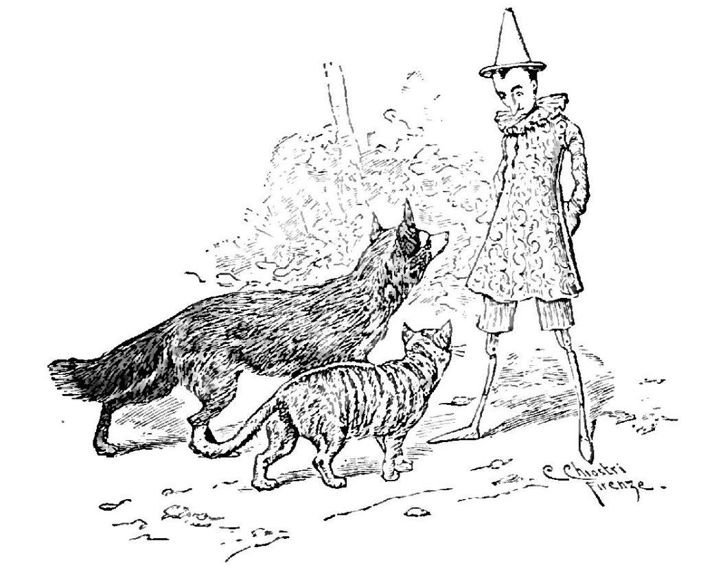 Festival Giardini Aperti -Illustrazione tratta dalle Avventure di Pinocchio