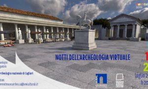 Notti dell'Archeologia Virtuale locandina