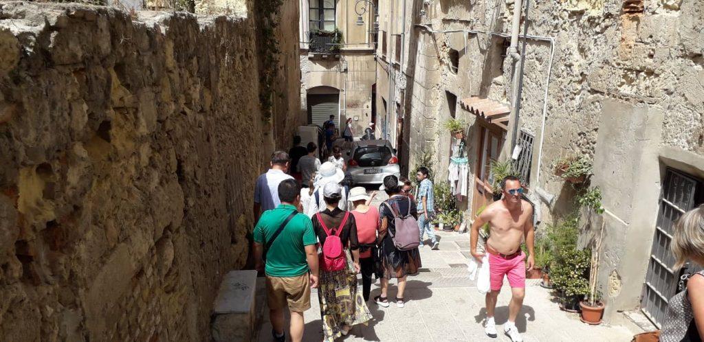 Castello, turisti