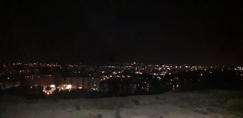 La notte di San Lorenzo, via Goito a Cagliari