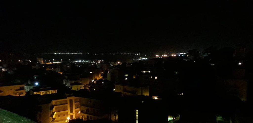 La notte di San Lorenzo, viale Buoncammino
