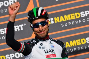 Fabio Aru per puro caso un campione del ciclismo