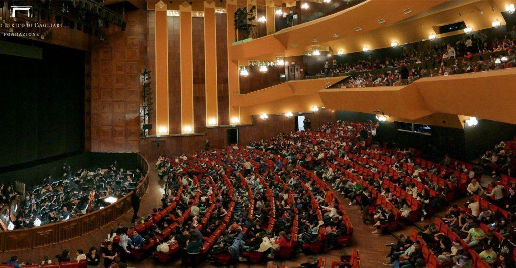 Stagione lirica 2020: interno Teatro Lirico