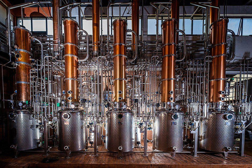Filu 'e ferru: distilleria moderna