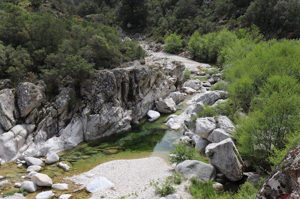 Panas - Fiume della Sardegna