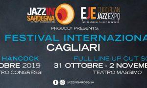 La locandina del Festival Internazionale jazz in Sardegna