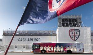 Pulman Ctm Tutti Allo Stadio in autobus Cagliari