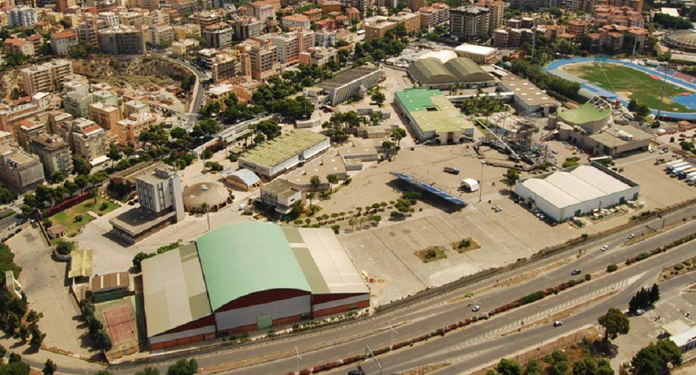 Quartiere Fieristico Cagliari immagine dall'alto, ottobre a Cagliari