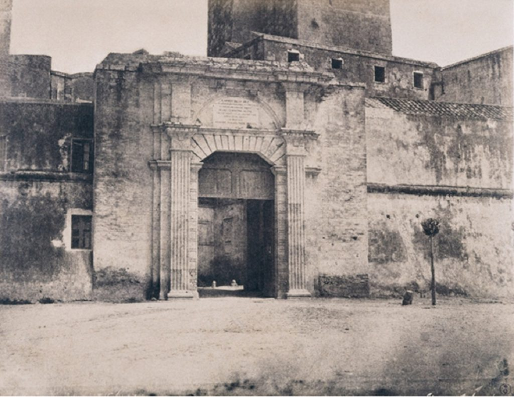 Foto di Porta Cristina del 1800