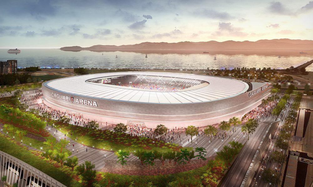 Cagliari Stadio Progetto Cmr Sportium