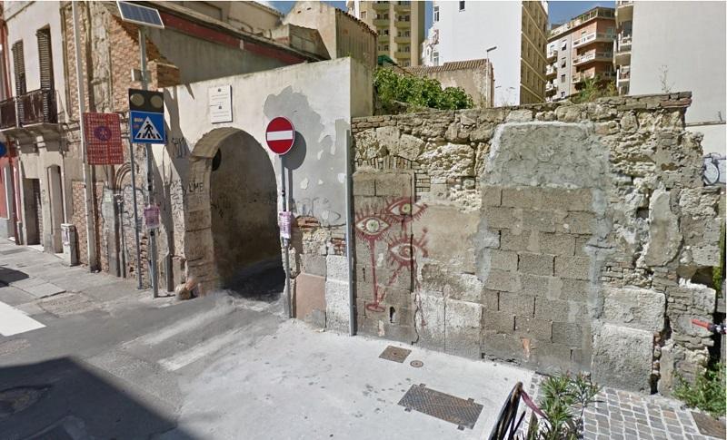 Arco Di Palabanda a Cagliari come si presenta oggi