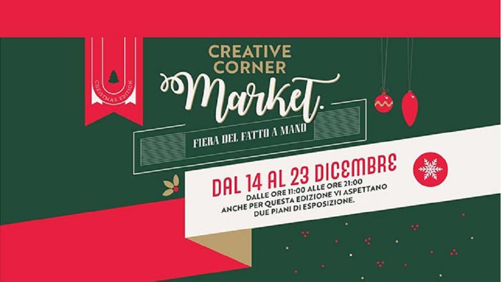 Rassegna natalizia 2019 - Creative Corner Market al Lazzaretto