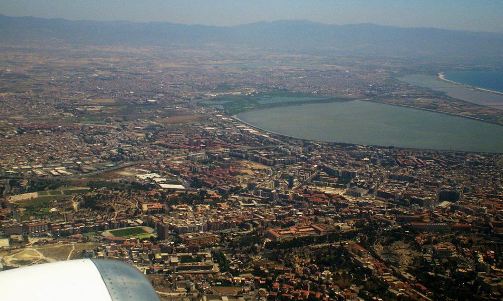 Città Metropolitana di Cagliari - Veduta aerea del capoluogo