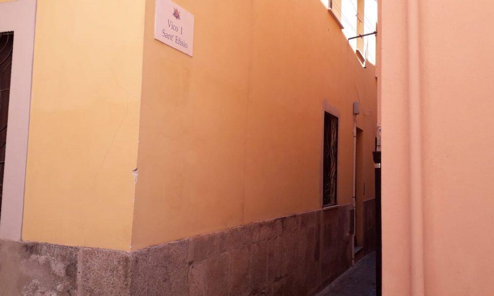 Stampace, vico Sant'Efisio, strada