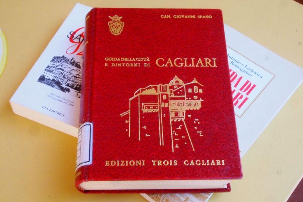 primo piano della Guida di Cagliari scritta da Canonico Spano