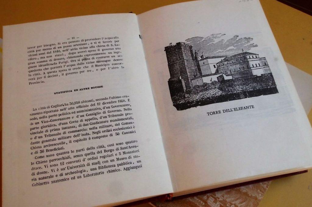 interno della guida di Cagliari del Canonico Spano