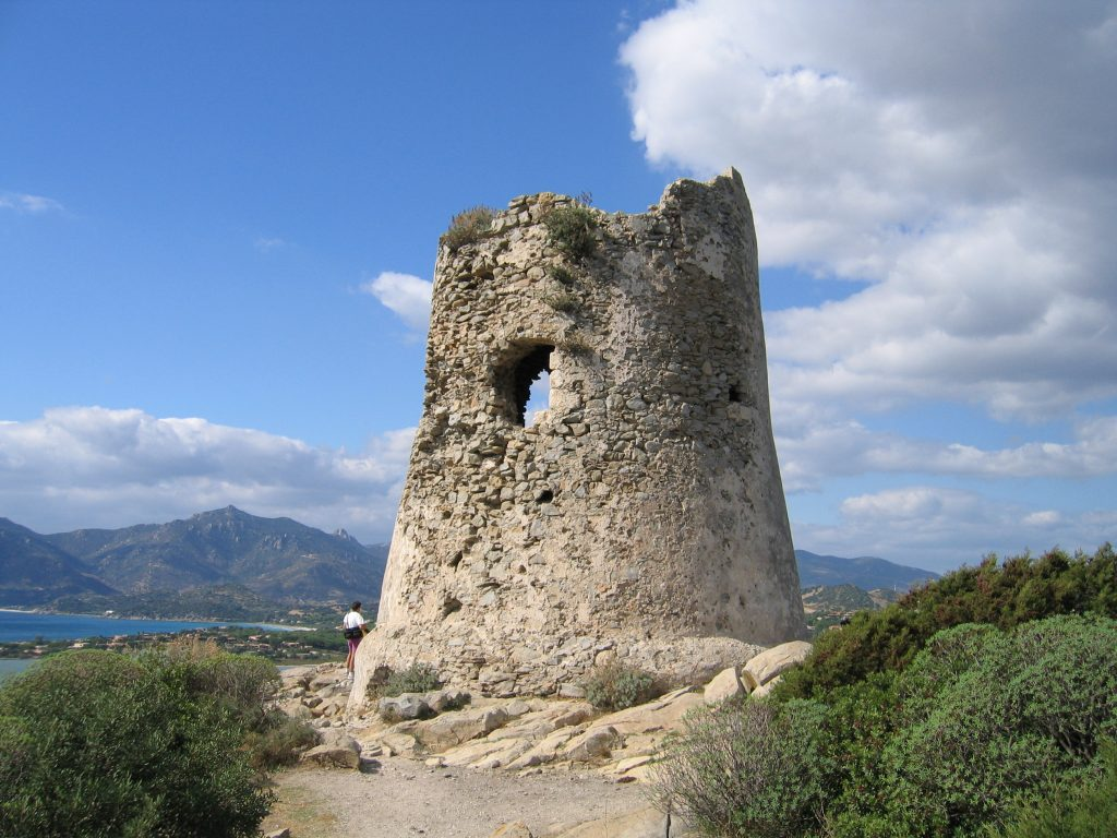 Cammino delle 100 torri -Torre di Porto Giunco, Villasimius
