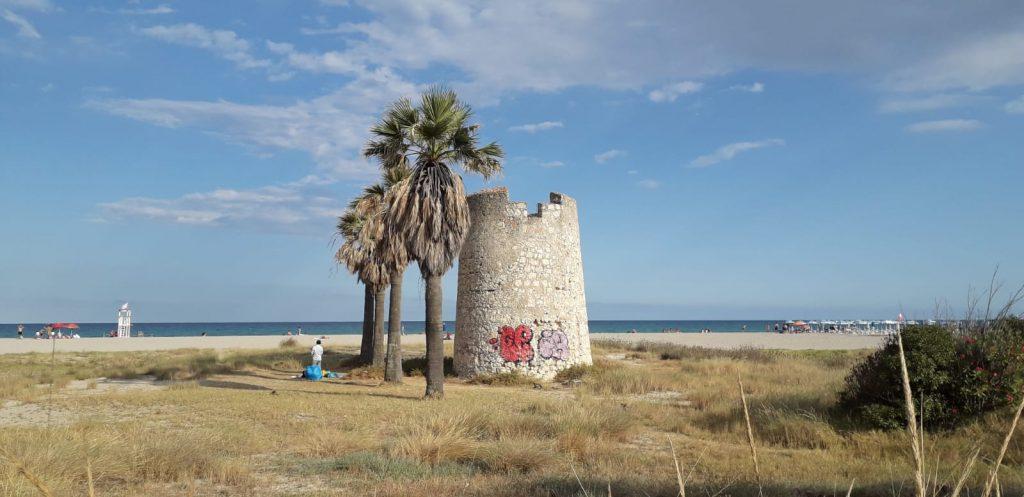Torre Spagnola Poetto 2020 Spiaggia
