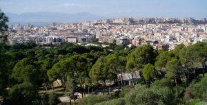 Vista di Cagliari dal Parco di Monte Urpinu