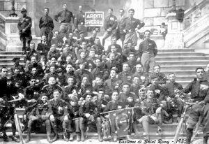 Cagliari Marcia Su Roma 1935