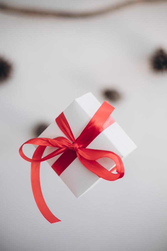 immagine di un pacchetto regalo