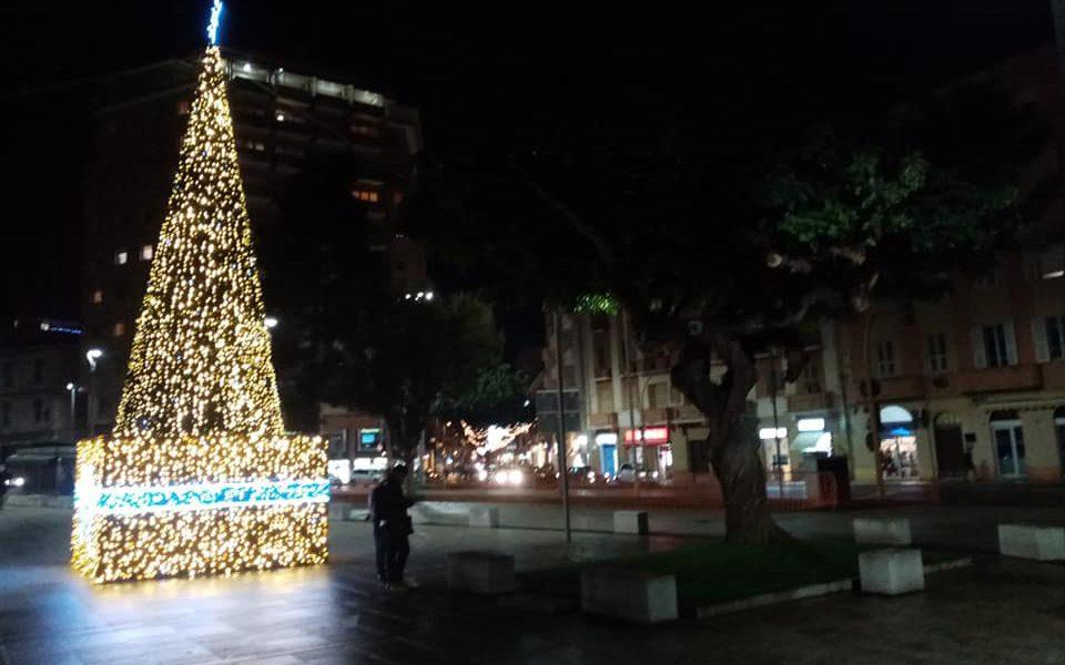 Natale In Centro Cagliari Piazza Garibaldi