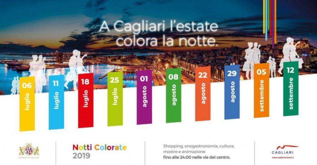Cagliari Notti Colorate
