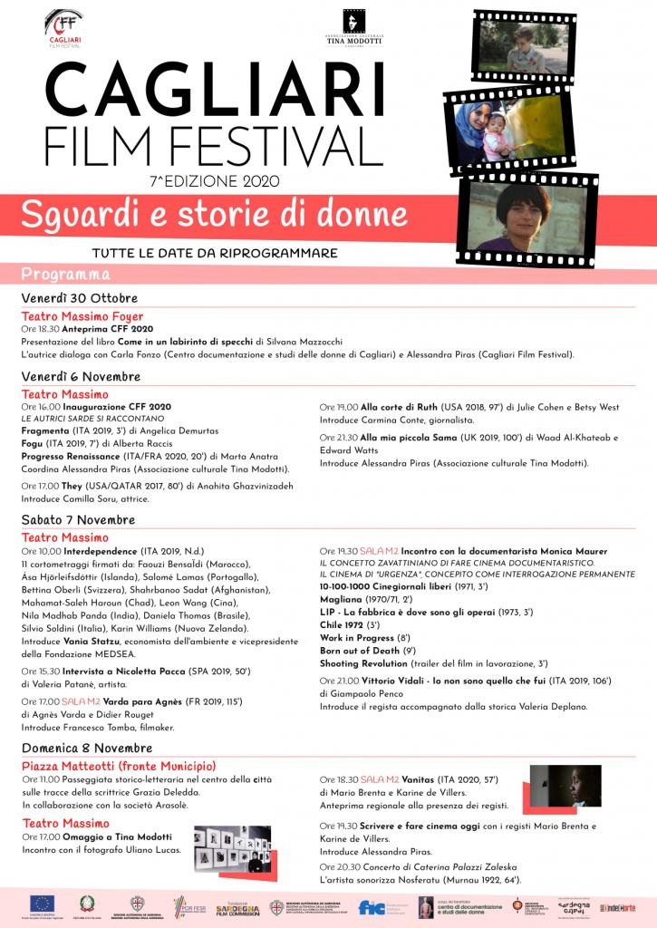Locandina cagliari film festival